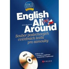 English All Around + CD - Soubor poslechových cvičebních textů pro samouky