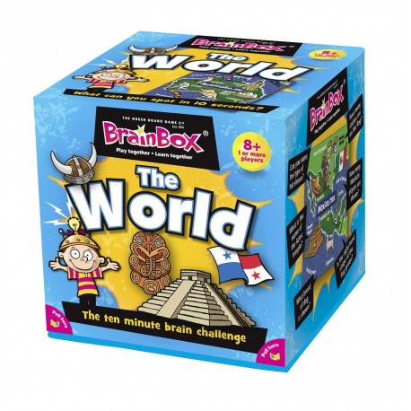 BrainBox The World Green Board Game 5025822900012