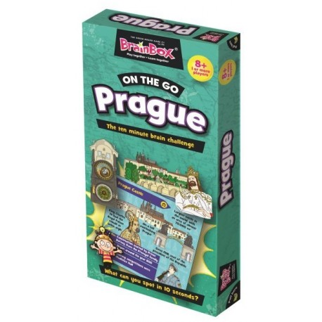 BrainBox On the Go Prague Green Board Game 8590228013996