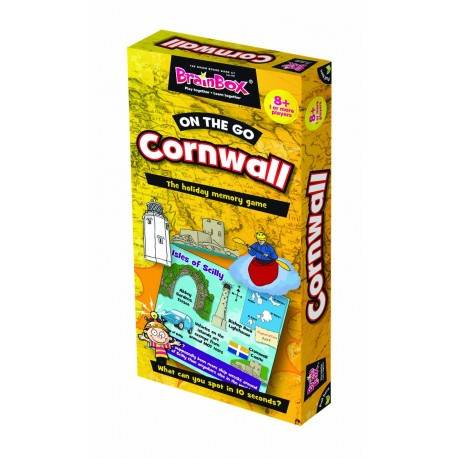 BrainBox On the Go Cornwall Green Board Game 5025822900838