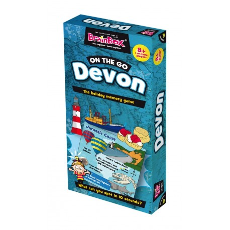 BrainBox On the Go Devon Green Board Game 5025822900821