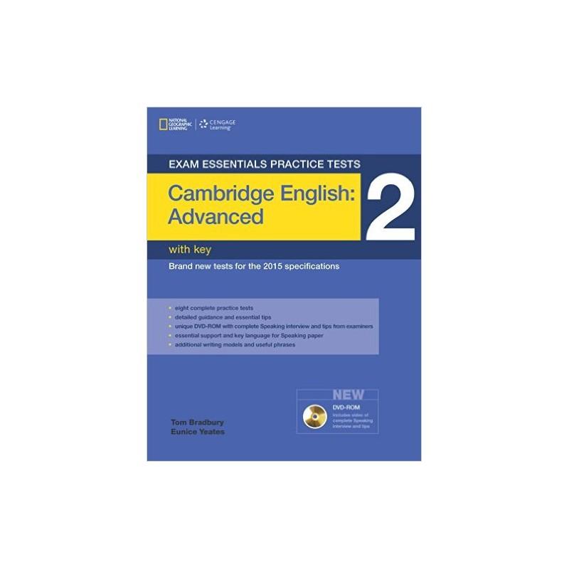 Exam Essentials Practice Tests - Cambridge English Advanced (CAE) 2 with  Key + DVD-ROM