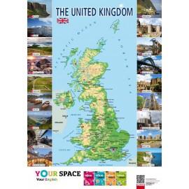 The United Kingdom - Mapa