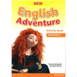 New English Adventure Starter B Activity Book + Songs & Stories CD