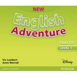 New English Adventure 1 Class Audio CD