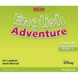 New English Adventure 1 Class Audio CD