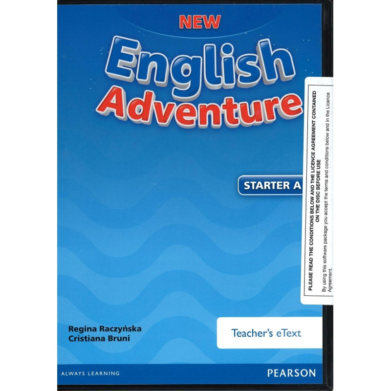 New English Adventure Starter A Active Teach (Interactive Whiteboard  Software)