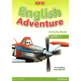 New English Adventure 1 Activity Book + Songs & Stories CD