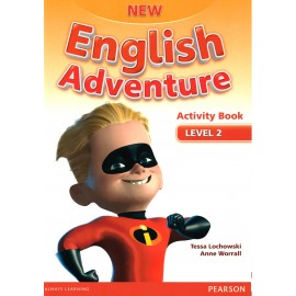 New English Adventure 2 Activity Book + Songs & Stories CD