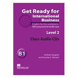 Get Ready For International Business 2 BEC Class Audio CD
