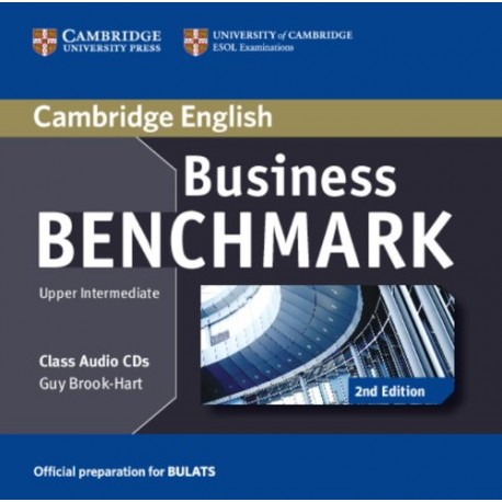 Business Benchmark Second Edition Upper Intermediate BULATS Class Audio CDs Cambridge University Press 9781107680036