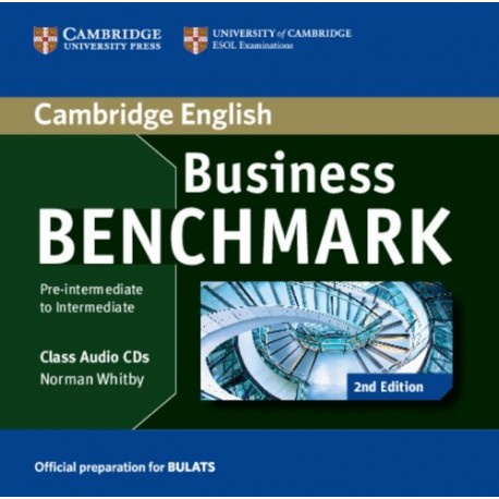 Business Benchmark Second Edition Pre-intermediate - Intermediate BULATS Class Audio CDs Cambridge University Press 9781107644816