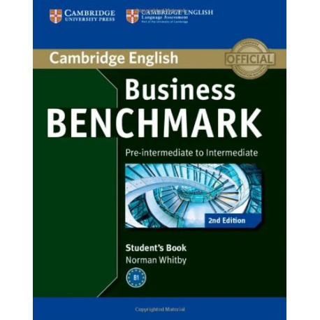 Business Benchmark Second Edition Pre-intermediate - Intermediate BULATS Student's Book Cambridge University Press 9781107697812