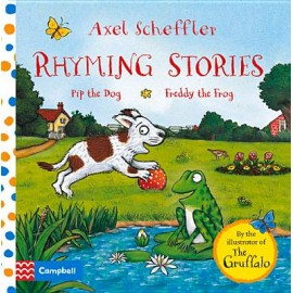 Rhyming Stories: Pip the Dog and Freddy the Frog Board Book