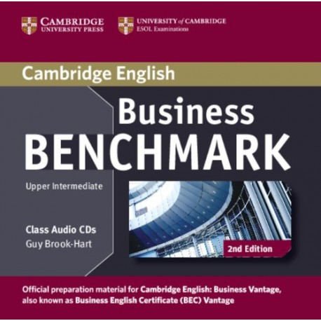 Business Benchmark Second Edition Upper Intermediate Class Audio CDs Cambridge University Press 9781107633155