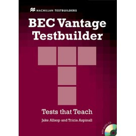 BEC Vantage Testbuilder (with key) + CD