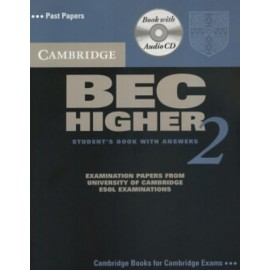 Cambridge BEC Higher 2 Self-Study Pack (Book + CD)