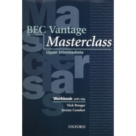BEC Vantage Masterclass Workbook and Audio CD Pack with Key