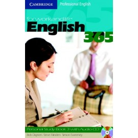 English 365 Level 3 Personal Study Book + Audio CD