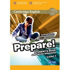 Prepare! 1 Student's Book + Online Workbook