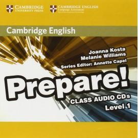Prepare! 1 Class Audio CDs