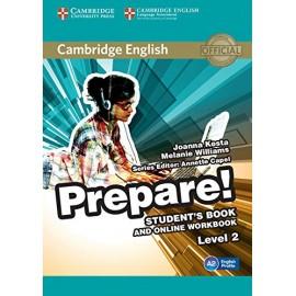 Prepare! 2 Student's Book + Online Workbook