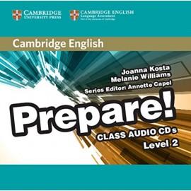 Prepare! 2 Class Audio CD