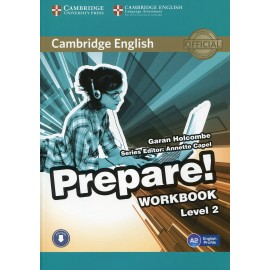 Prepare! 2 Workbook + Audio download