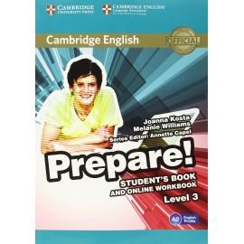 Prepare! 3 Student's Book + Online Workbook