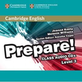 Prepare! 3 Class Audio CDs