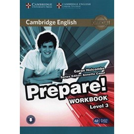 Prepare! 3 Workbook + Audio download