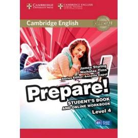 Prepare! 4 Student's Book + Online Workbook