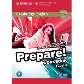 Prepare! 4 Workbook + Audio download