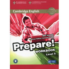 Prepare! 5 Workbook + Audio download