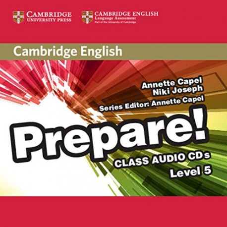Prepare! 5 Class Audio CD Cambridge University Press 9781107497863