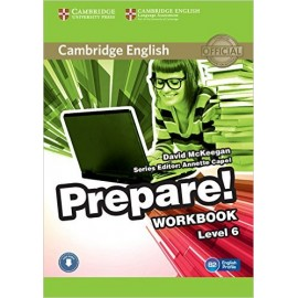 Prepare! 6 Workbook + Audio download