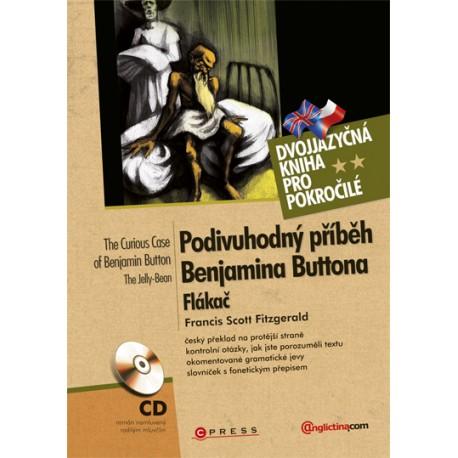Podivuhodný příběh Benjamina Buttona, Flákač / The Curious Case of Benjamin Button, The Jelly-Bean + Audio CD Computer Press 9788025130933