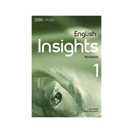English Insights 1 Pre-Intermediate Workbook + Audio CD + DVD Cengage Learning 9781408070888
