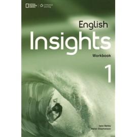 English Insights 1 Pre-Intermediate Workbook + Audio CD + DVD