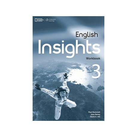 English Insights 3 Upper-Intermediate Workbook + Audio CD + DVD Cengage Learning 9781408071021