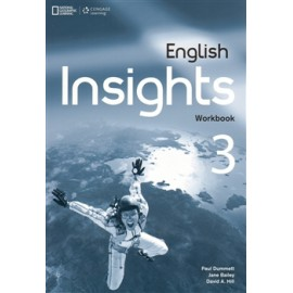 English Insights 3 Upper-Intermediate Workbook + Audio CD + DVD