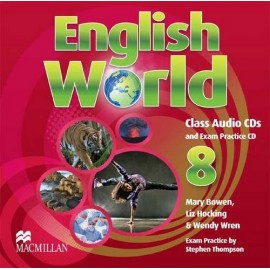 English World 8 Class CD