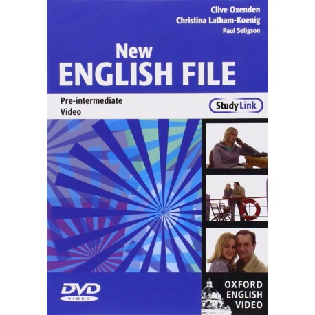 New English File Pre-Intermediate DVD Oxford University Press 9780194593939
