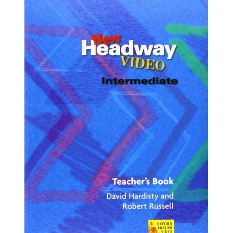 New Headway Video Intermediate Teacher's Book Oxford University Press 9780194581899