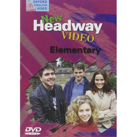 New Headway Video Elementary DVD Oxford University Press 9780194581912