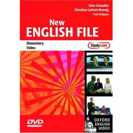 New English File Elementary DVD Oxford University Press 9780194593946