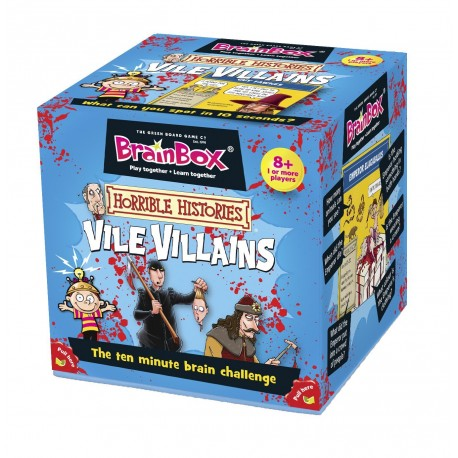 BrainBox Horrible Histories: Vile Villains