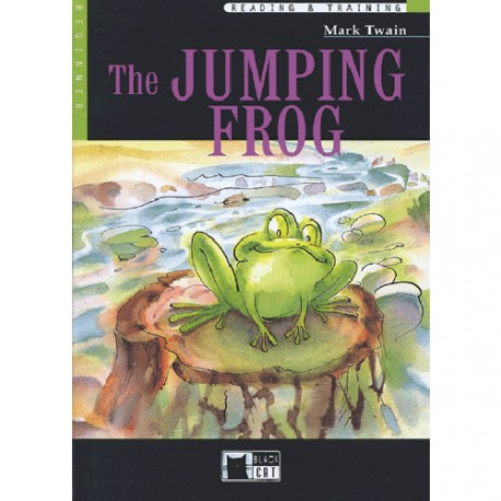 The Jumping Frog + CD Black Cat - CIDEB 9788853001382