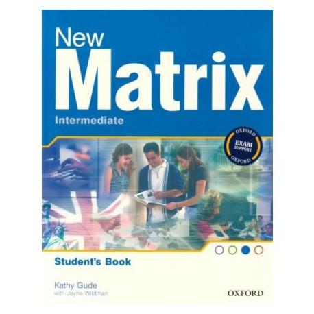 New Matrix Intermediate Student's Book Oxford University Press 9780194766142