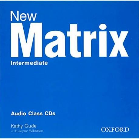 New Matrix Intermediate Class CDs Oxford University Press 9780194766203